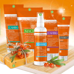 Orange vitamin multicomplex