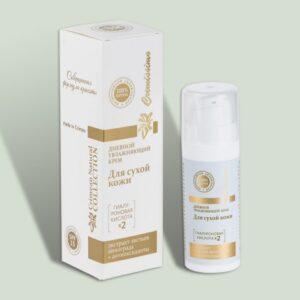 Дневной увлажняющий для сухой кожи Cremissimo Collection с гиалуроновой кислотой